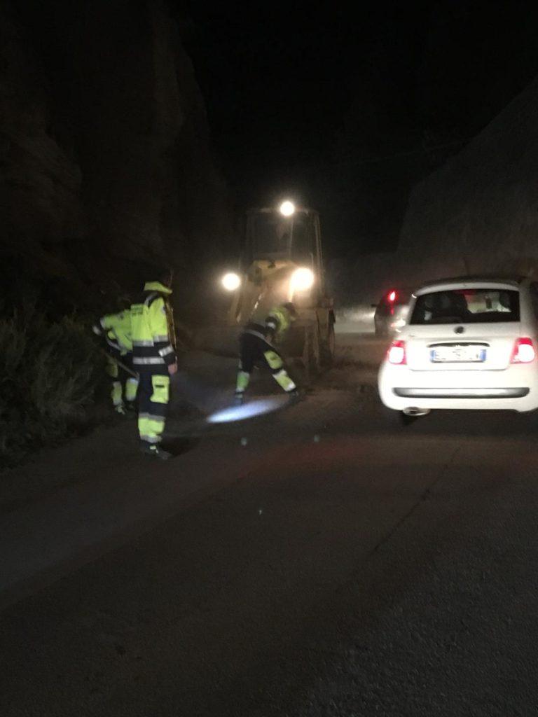 Frana via Serra, dal Comune pronto intervento 2