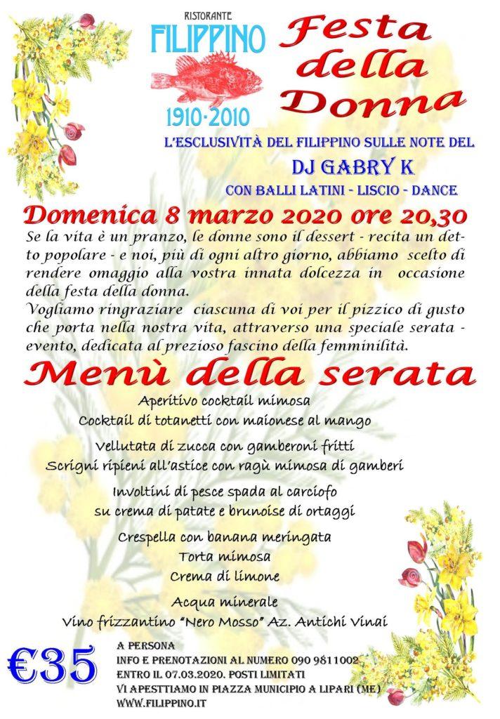 Festa della Donna da Filippino