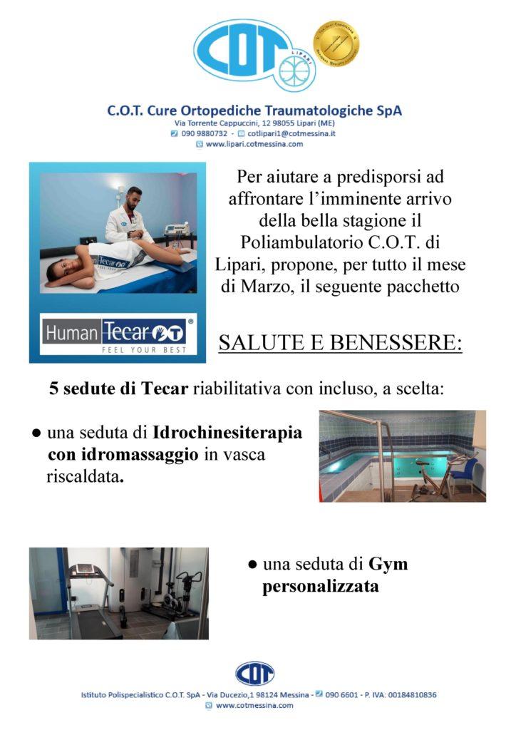 COT Lipari : visite ambulatoriali di marzo