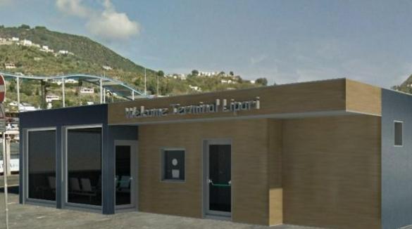 La stazioni marittime che a Lipari e Vulcano non si faranno perchè ci sono già