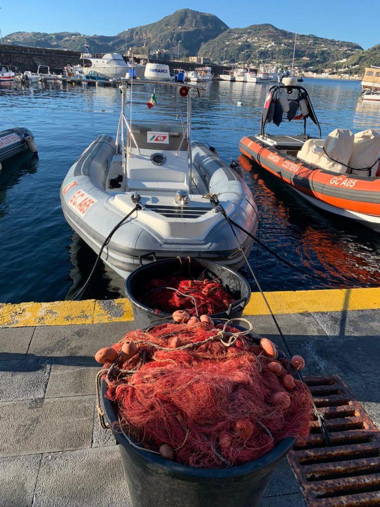 Vulcano: pesca di frodo a Gelso, operazione G.C. e C.C.