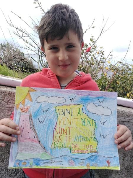 Viral-school at home : piazza virtuale a Canneto in festa per la Pasqua 2