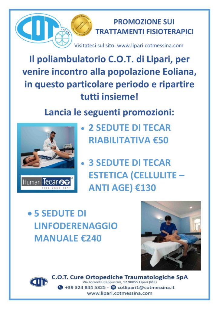 COT Lipari :  le visite ambulatoriali di giugno 4