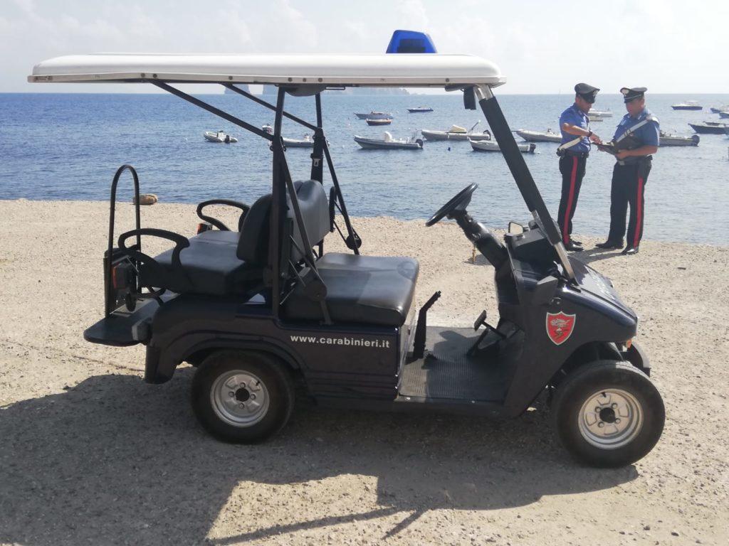 Panarea : Carabinieri chiudono due locali per 5 giorni