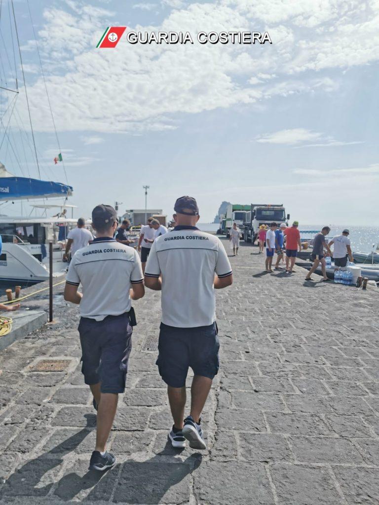 Eolie : controlli e risultati del lavoro nelle isole della Guardia costiera 3