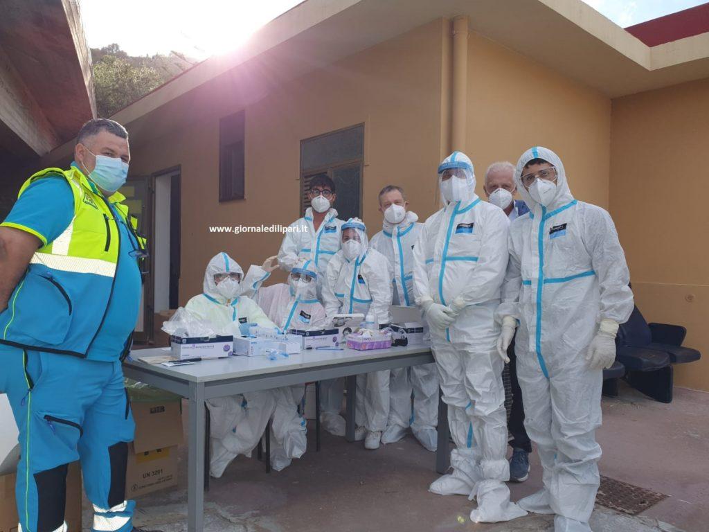 Coronavirus, Lipari : quasi 400 tamponi, tre positivi ( una bambina) da confermare
