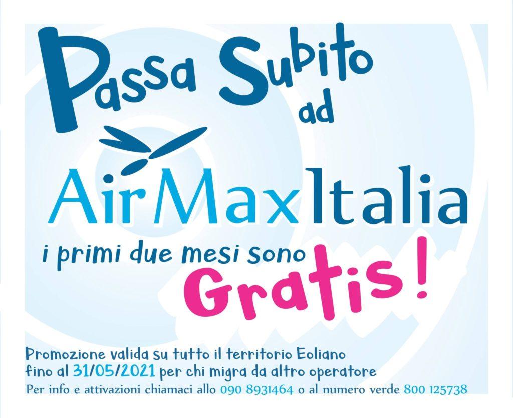 Passa ad AirMaxItalia : primi due mesi gratis