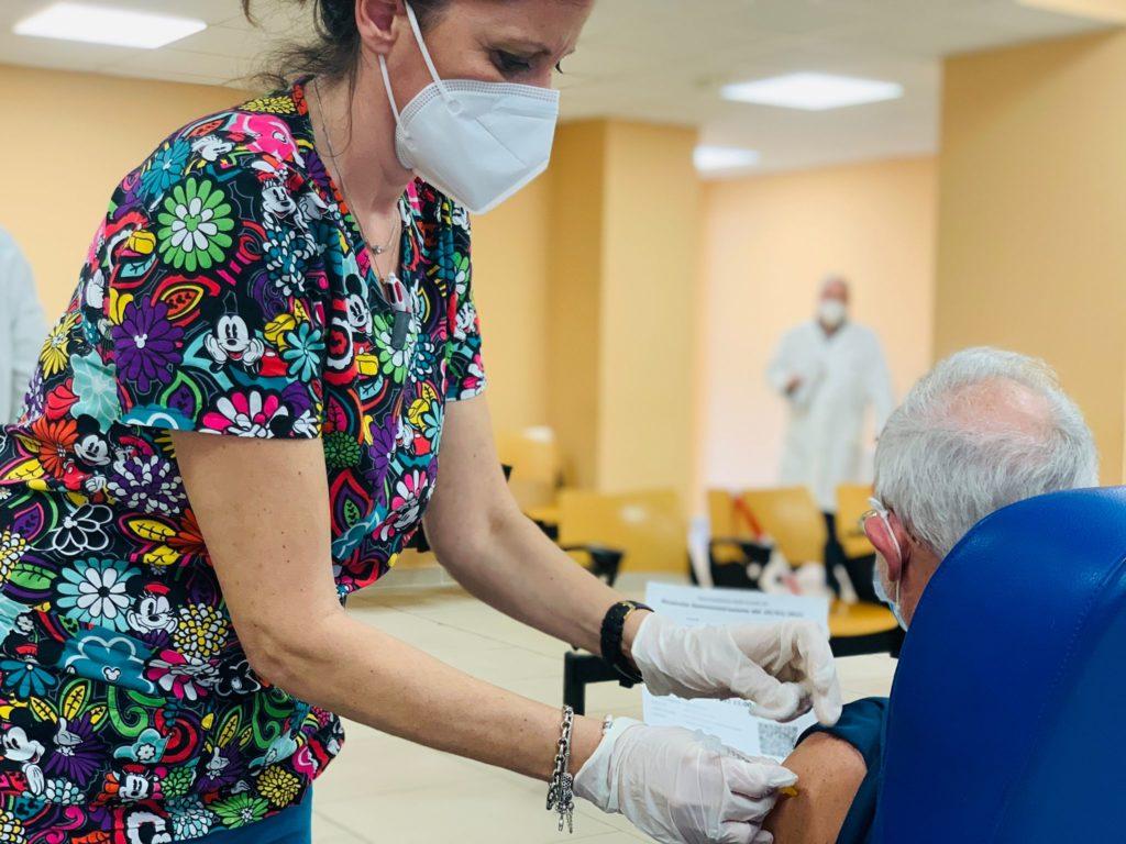 Papardo : vaccinazioni a ritmo serrato