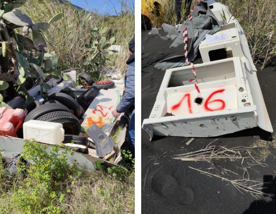 Stromboli e Vulcano : rifiuti abbandonati in aree demaniali, 18 mila euro di sanzioni amministrative