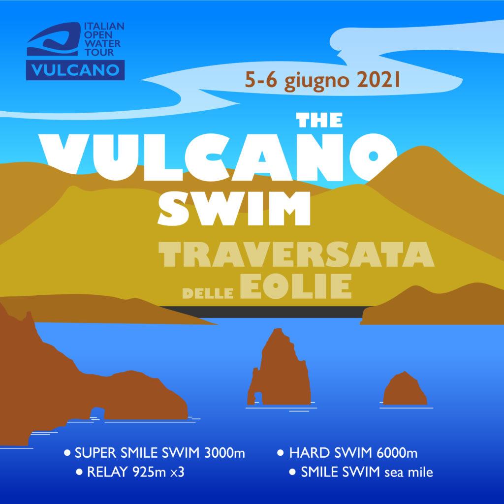 Vulcano, fine settimana di sport e solidarietà : nell'isola 800 persone solo con l'Italian Open Water Tour