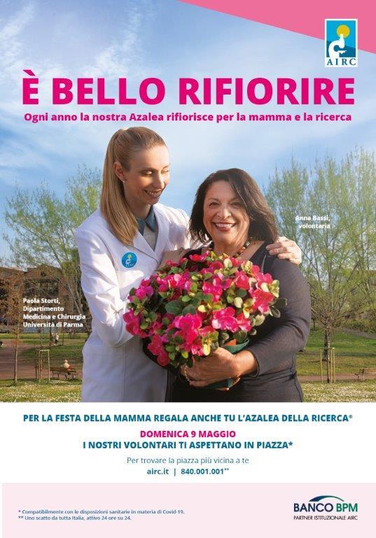 Festa della Mamma con l'Azalea della Ricerca : Delegazione Airc Lipari presente