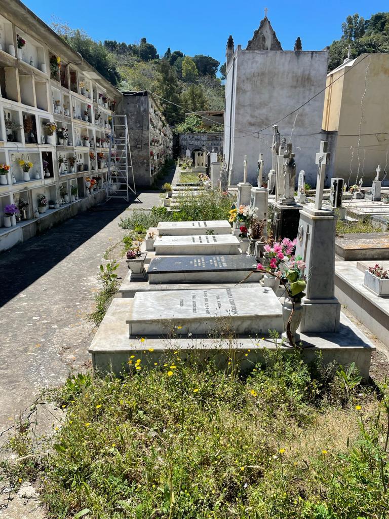 Canneto dentro, Mimmo Fonti: cimitero abbandonato e area esterna deposito rifiuti