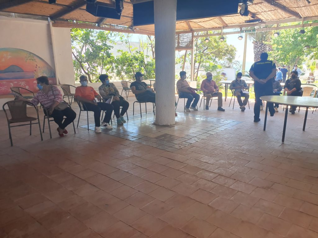Filicudi, vaccini a villa La Rosa