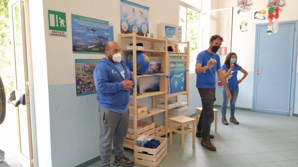 Marevivo : montati i Blue corner al Comprensivo Lipari
