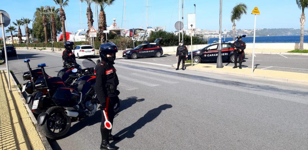 Milazzo-Eolie, controlli  Carabinieri 1° maggio: 4  denunciati e 21 sanzioni  per violazione normativa anti-covid.