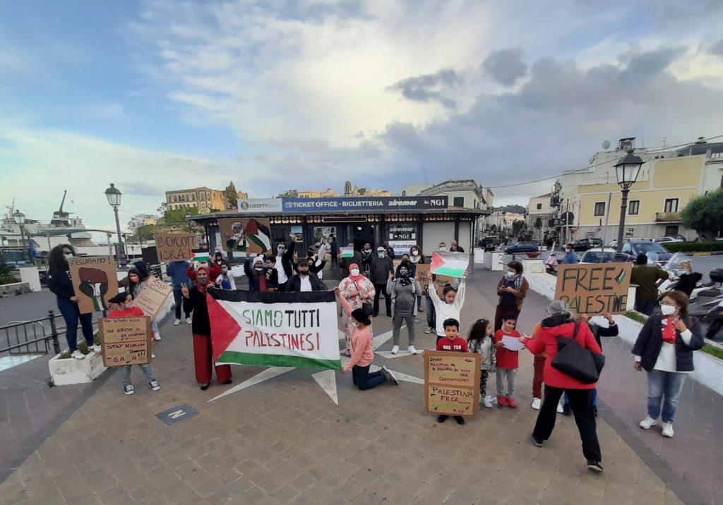 Lipari : solidarietà alla Palestina