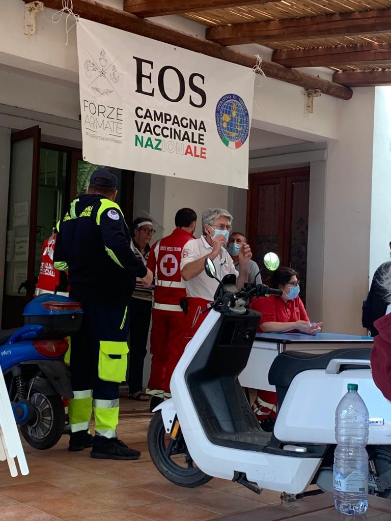 Vaccini in corso a Panarea e Stromboli, 4