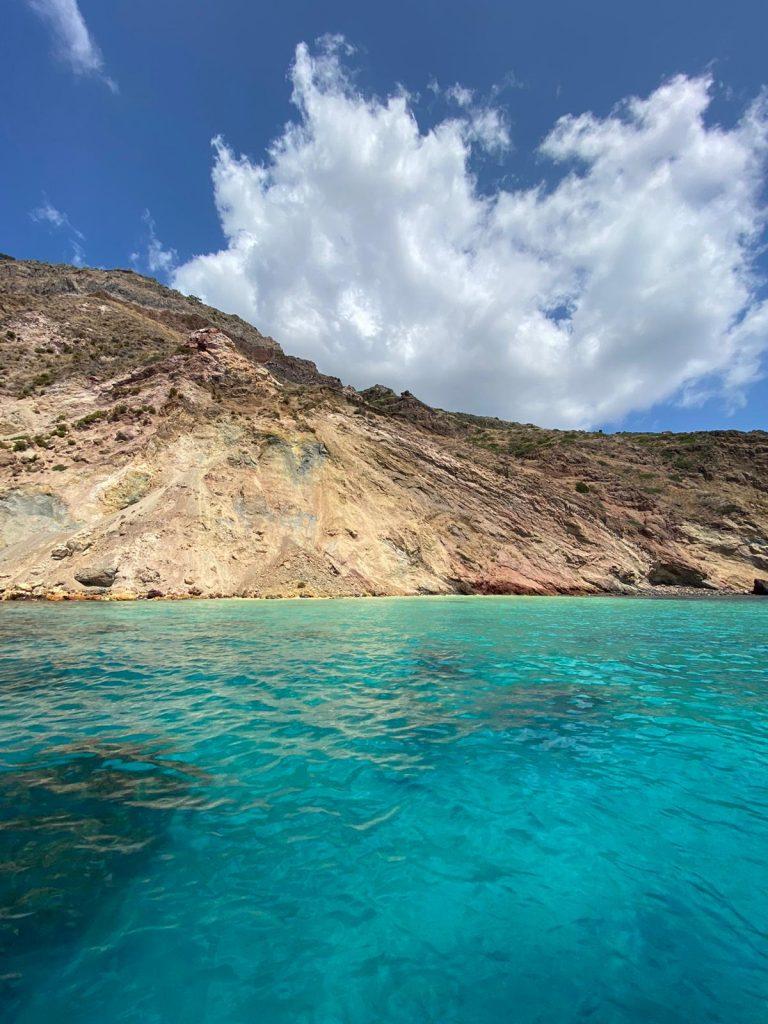 Ancora frane nel versante occidentale di Lipari, spiagge da recuperare