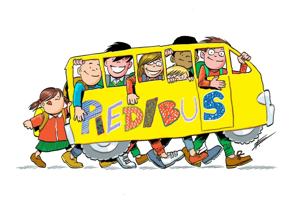 """Canneto X Noi, la proposta : a scuola con  il """"Piedibus"""""""