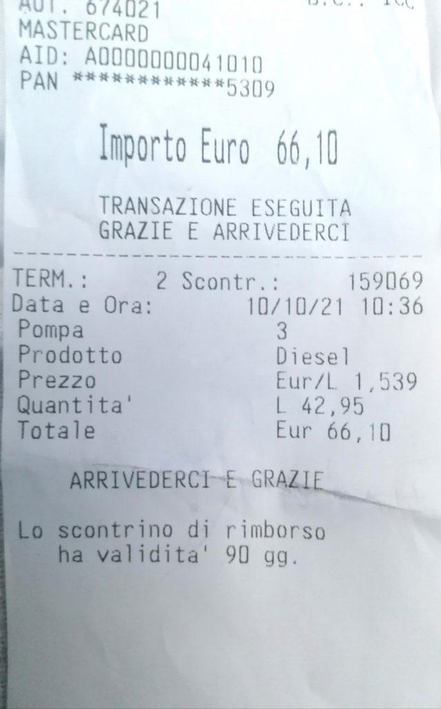 Rincaro carburante a Lipari, Turcarelli : quale percentuale di ricarico su prezzo di acquisto ?